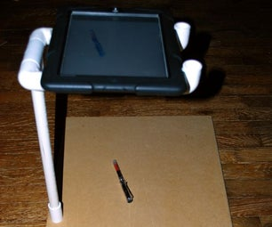 Top-down IPad/tablet Camera Stand