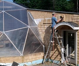 Geodesic Dome Greenhouse - Part 12 - THE END