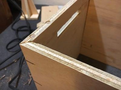 Edge-banding the Frame (optional)