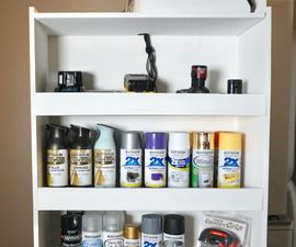 Movable 2-sided Organizational Storage Unit