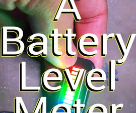 Setting a Battery Level Meter.