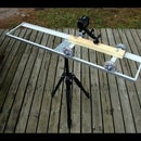 DIY Camera Dolly Rails for Actionpro X7, GoPro or any other action or video camera.