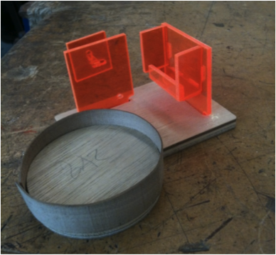 Drink Holder With Added Conpartments