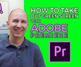 How to Remove Green Screen in Adobe Premiere Pro CC