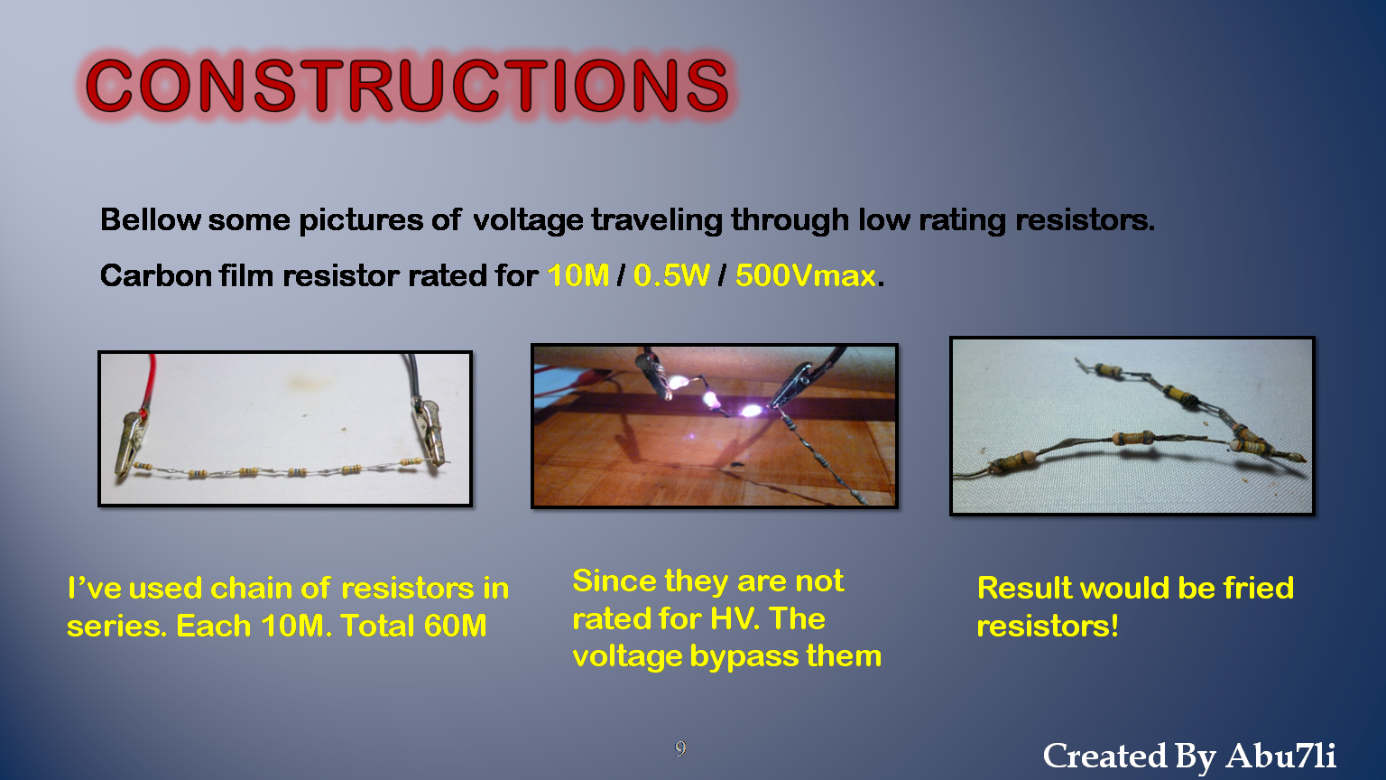 Picture of High Voltage Safety