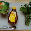 Refreshing mint tea