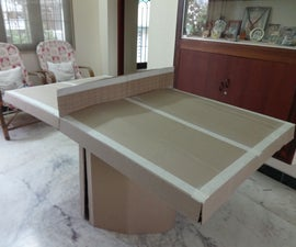 Flat Pack Table-tennis Table!