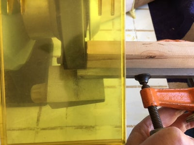 Marking and Grinding to Place the Carbide Insert Flush With the Top of the SS