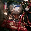 As much as possible to cool your CPU