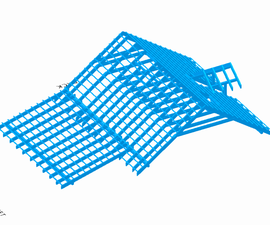 Roof Structure in SelfCAD