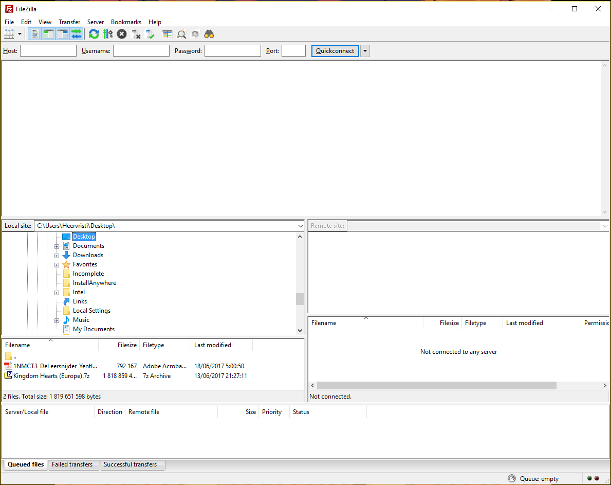 Picture of Import the Database File