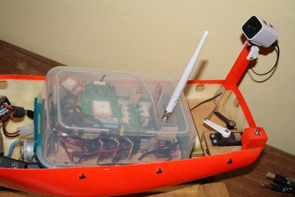 Making an Autonomous Boat Using a Raspberry Pi (WiP)