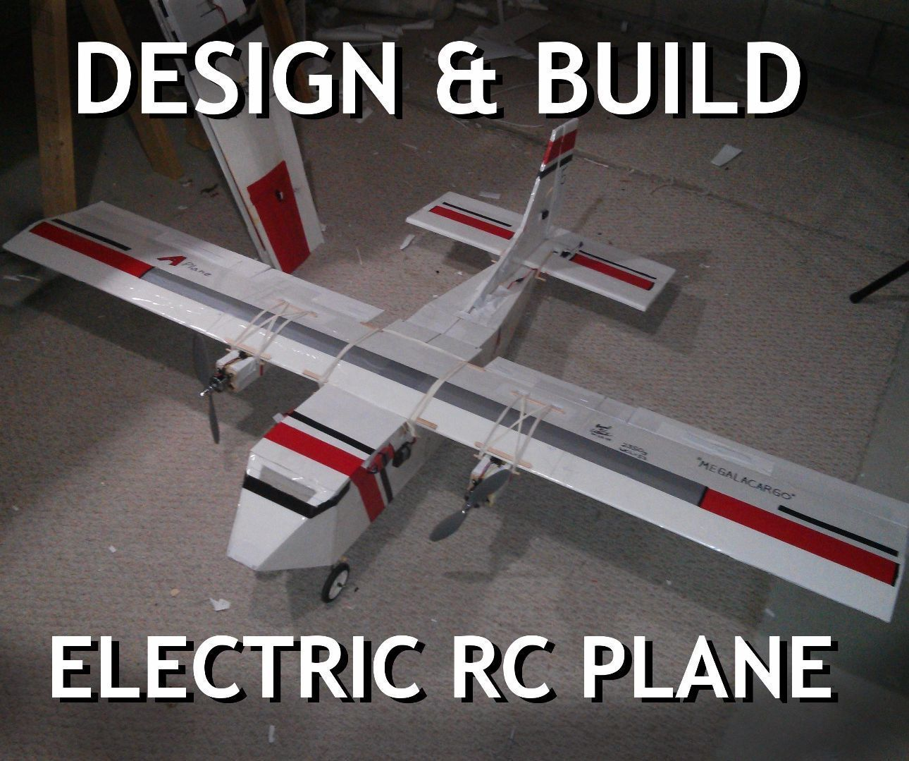 design build your own electric rc airplane 20 steps pictures