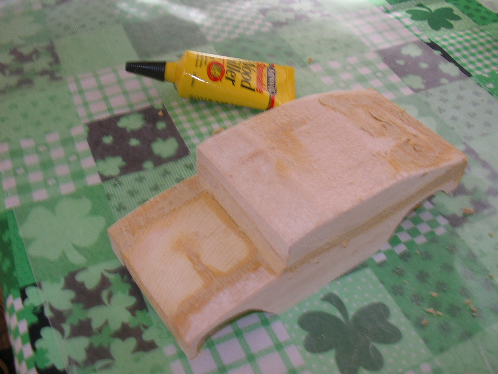 Picture of Sanding, Gluing, Filling Sanding Some More.