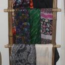 Bamboo Ladder/ Hanging Storage
