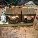 Make a 240V MOT high voltage power supply with 120V transformers