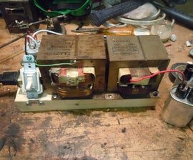 Make a 240V MOT high voltage power supply with 120V transformers