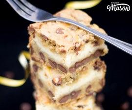 How to Make Amazing Choc Chip Cookie Cheesecake Bars