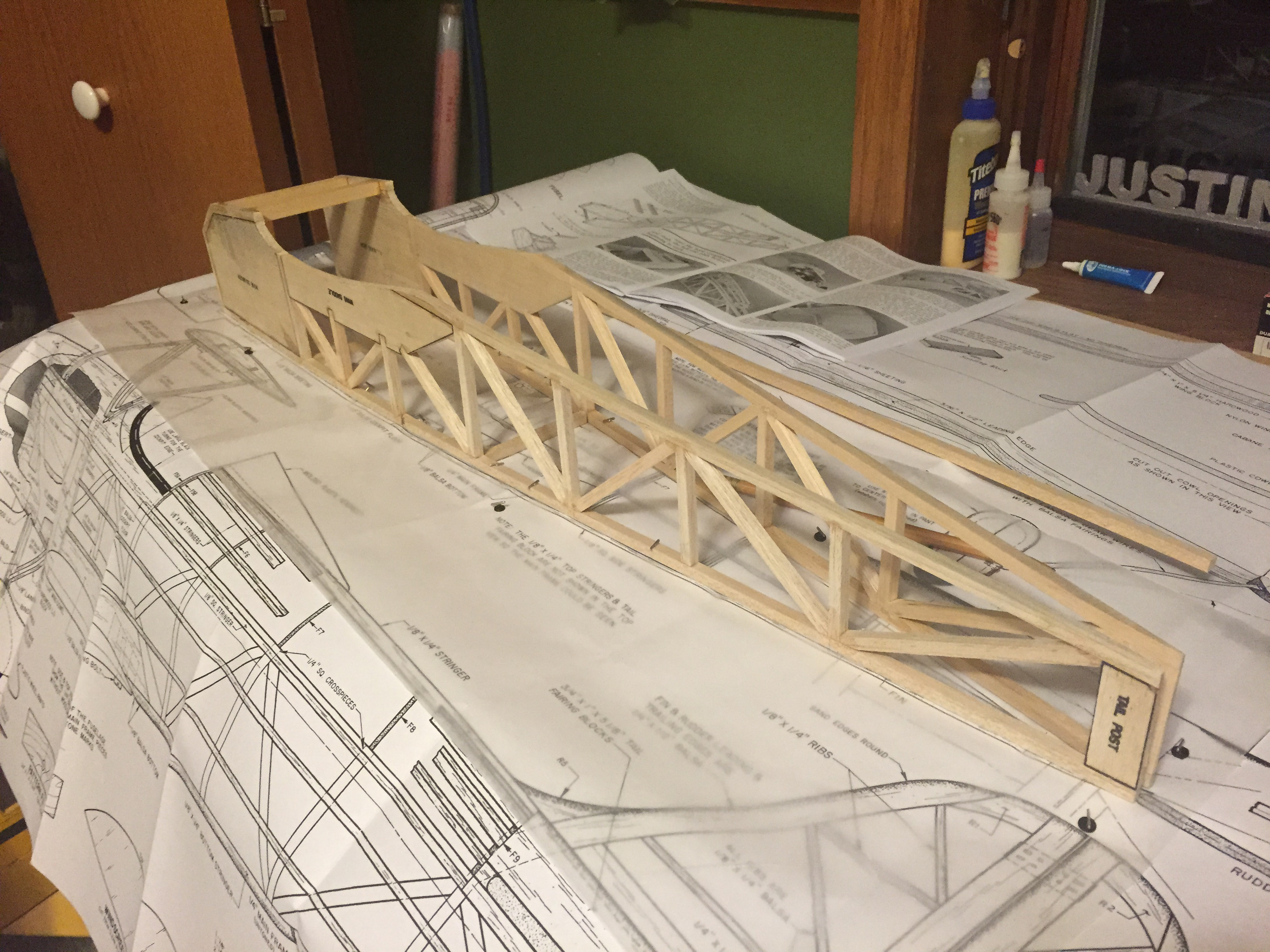 Picture of Fuselage Construction