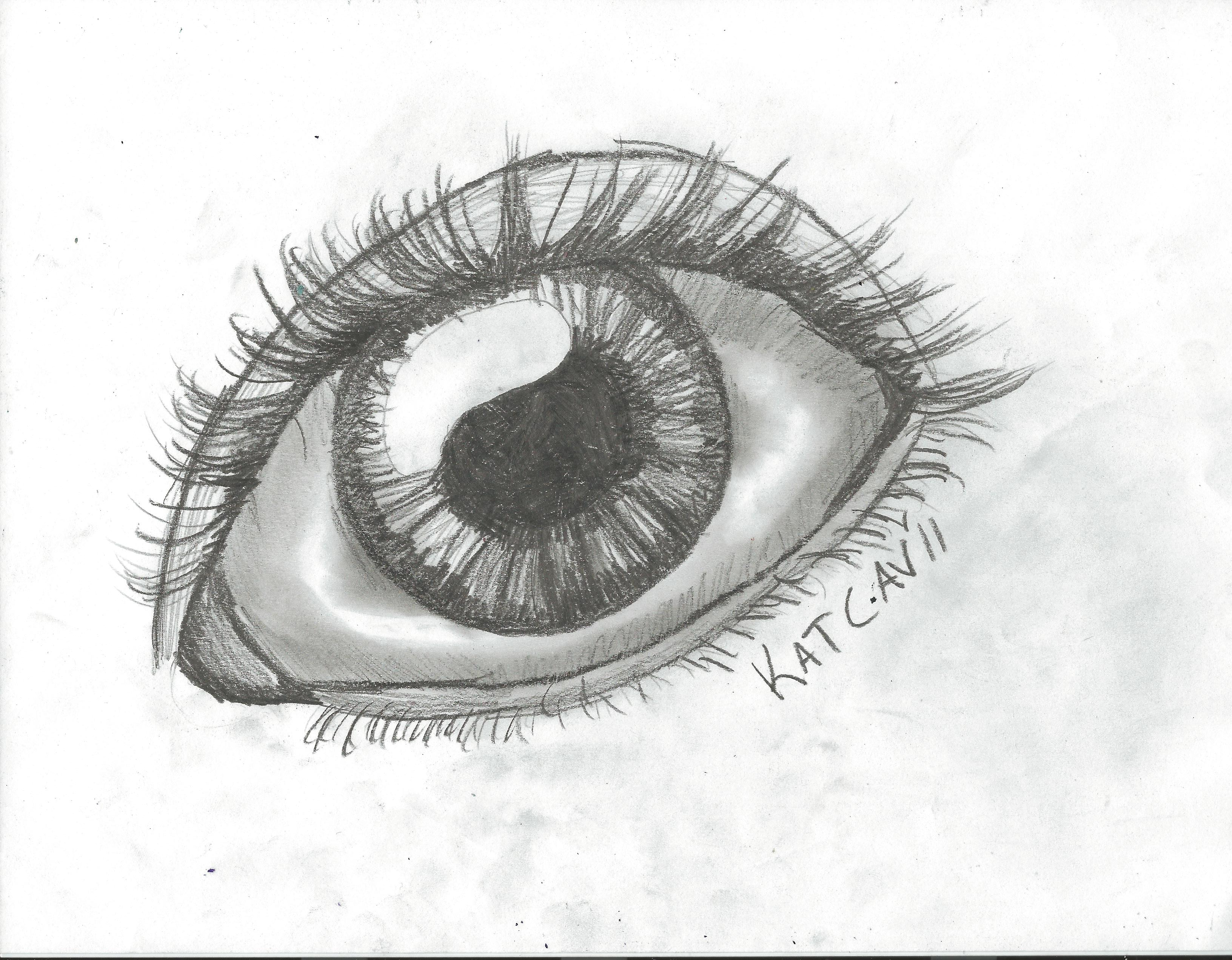 How to draw an eye updated 15 steps picture of finishing touches izmirmasajfo