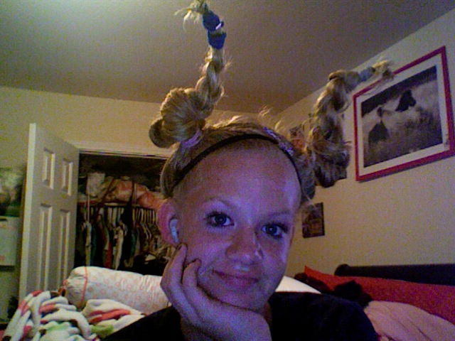 Picture of How to Create Crazy Hair :)