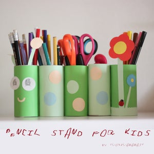 Pencil Stand for Kids