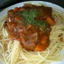 lazy man spaghetti