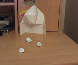 Mini Paper Basketball Hoop