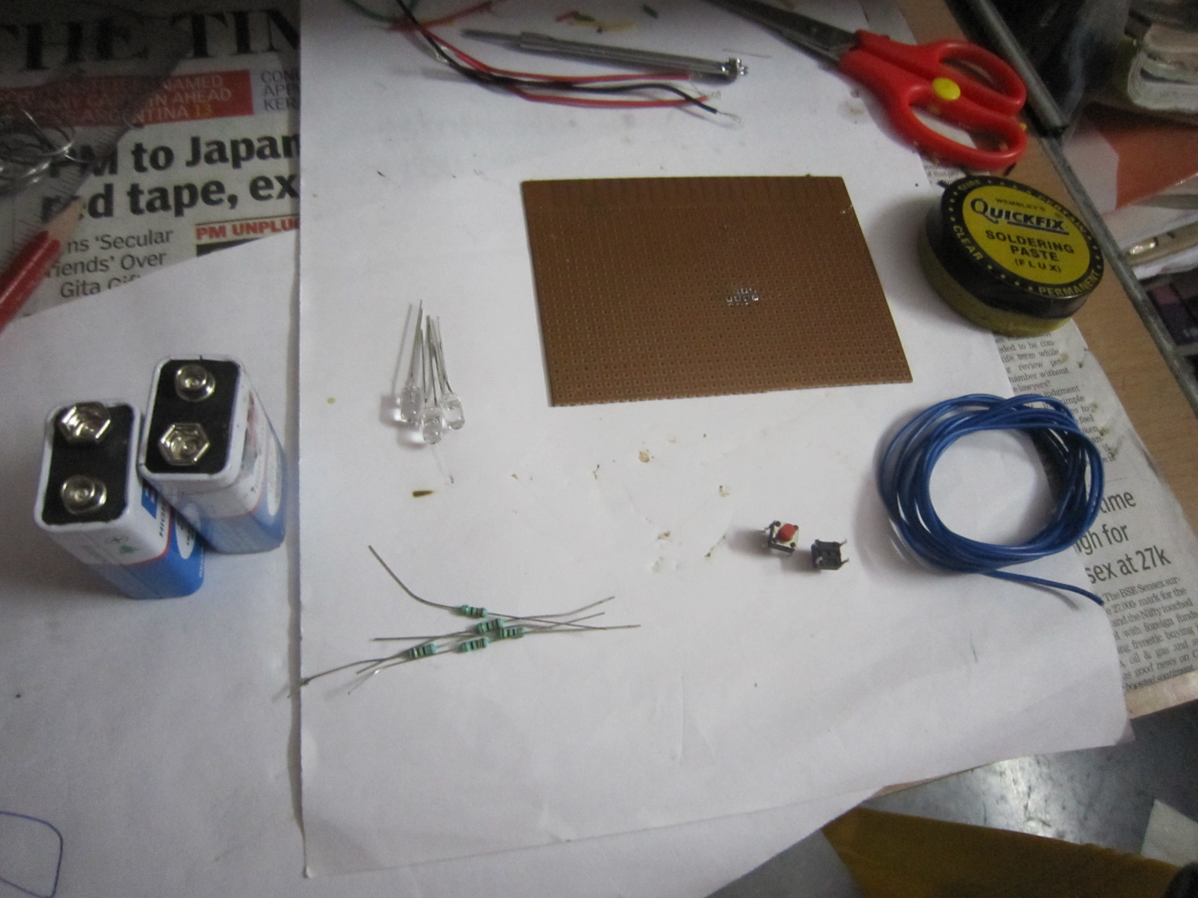 Picture of Assemble Equipments and Components