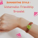 Summertime Style: Watermelon Friendship Bracelet