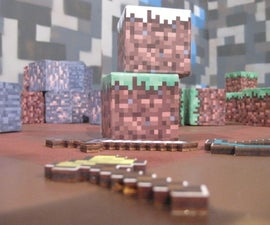 How to make a real world mine craft cube!