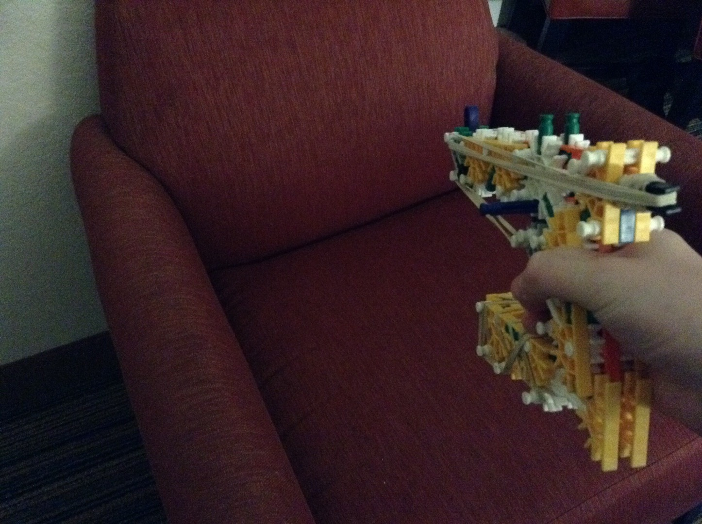 Picture of Knex Guardians of the Galaxy Starlord Pistol -Review-