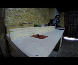 The Ultimate Miter Saw Station // Router Table