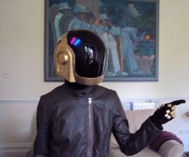 Guy-Manuel Daft Punk Helmet with Programmable LED Lighting
