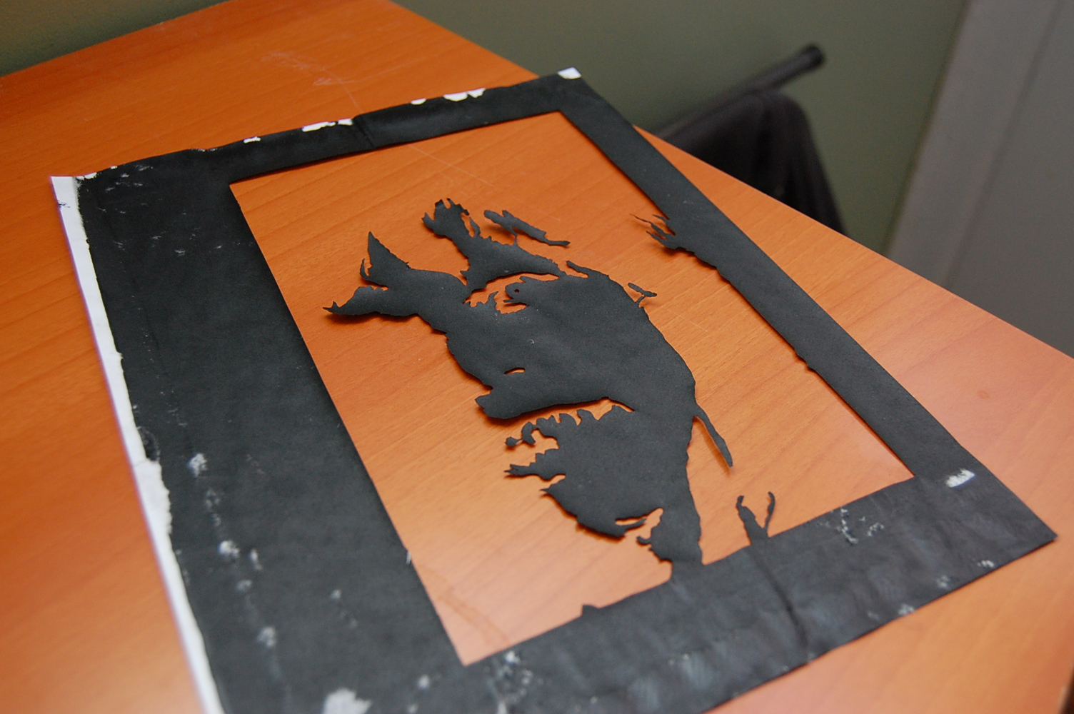 Picture of Getting Started. the Paper Stencil Method