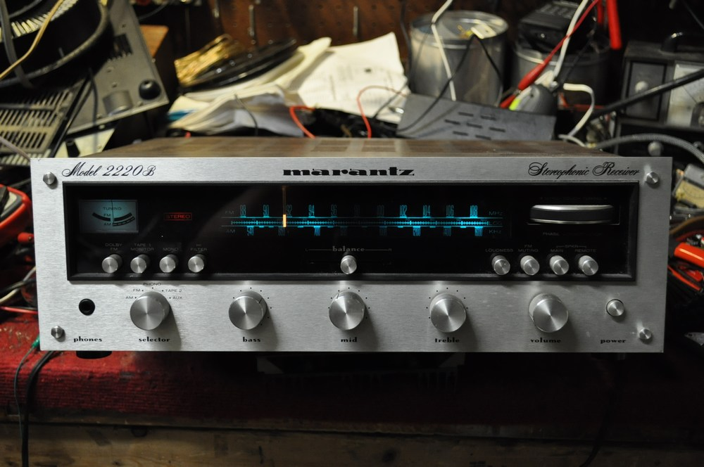 Bringing New Life to an Old Classic Marantz Stereo Receiver With a