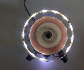 LED Phenakistoscope