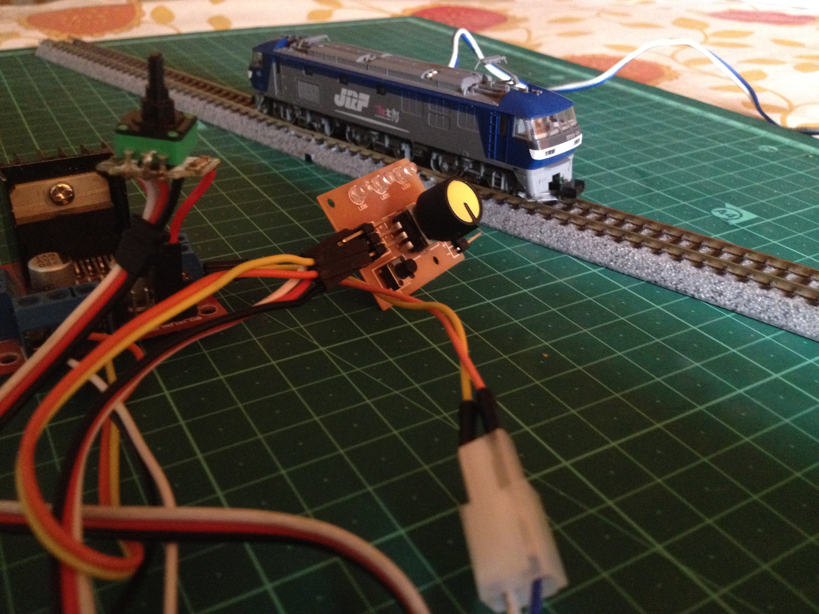 Picture of HACKED! Servo Motor As Model Train Driver!