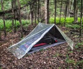 Ultralight clear tarp tent (2P)