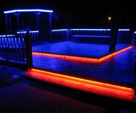 LED Deck Lighting- in color!
