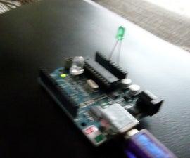 LED as lightsensor on the arduino