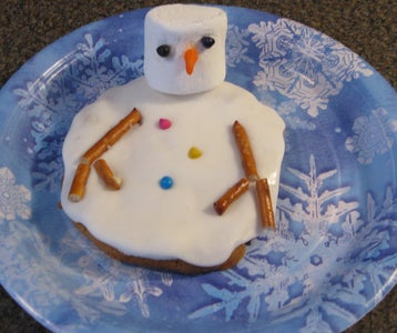 Your Melting Snowman Is Complete!