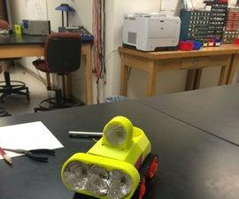 Electronic Dog (laser following robot)