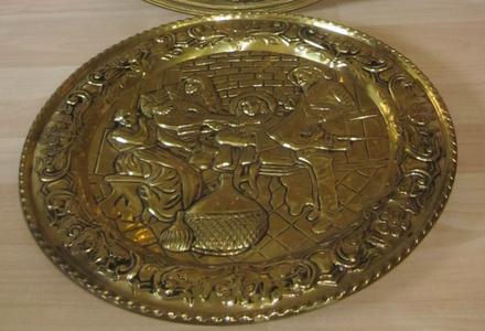 Shape the Bronze Plate.