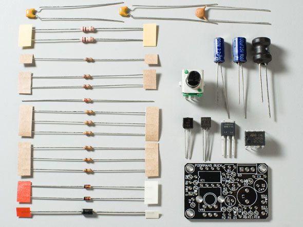 Picture of Parts, PCB and Assembly