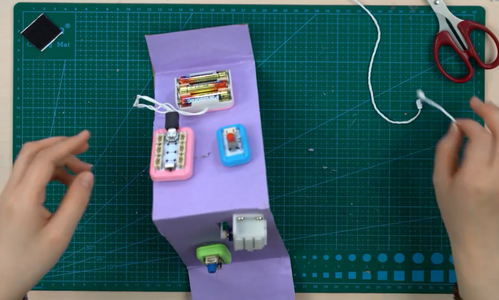 Connect the Battery Case to the Boson Kit Main Board