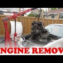 How to Remove a Car Engine
