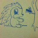 How To Draw A Porcupine