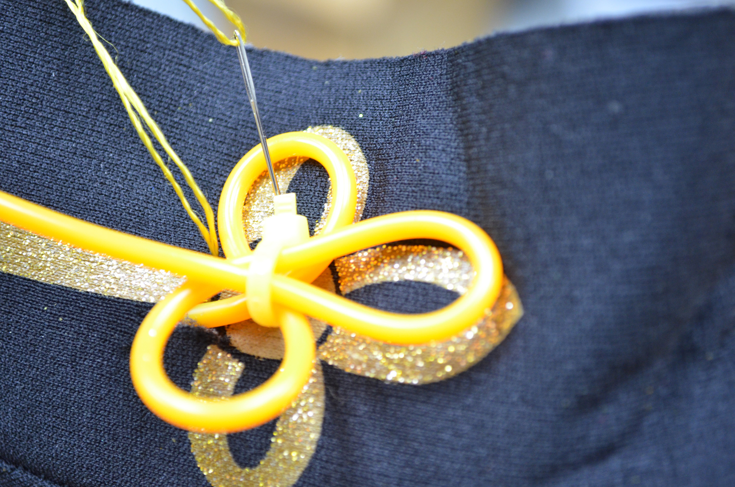 Picture of Sew the EL Wire Onto the Costume