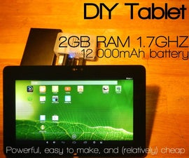 DIY tablet: Powerful, Easy-to-make, (relatively) cheap [Part 1: the guts]